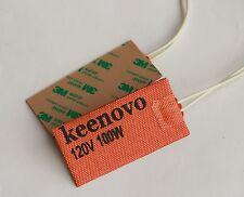 "Keenovo Univeral Silicone Heater Pad 2"" X 4"" 100W 120V,3M PSA, Custom Design OK"