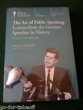 Art of Public Speaking DVD - NEW - Teaching Company / Great Courses