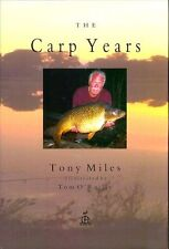 MILES TONY LITTLE EGRET PRESS FISHING BOOK THE CARP YEARS hardback LIMITED new