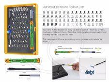 BEST 63 in 1 cacciavite Repair Tool Kit Set Xbox One PS4 T8 T10 MacBook Gamebit