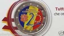 2 euro 2014 Andorra color Andorre андорра coloré colorful bunt farbe 20 Consell