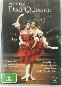 Nureyev's Don Quixote [New & Sealed] DVD