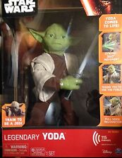 NEW Spin Master Star Wars Legendary Yoda with Lightsaber