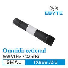 10pcs/lot Ebyte TX868-JZ-5 vertical high gain SMA-Male 868MHz antenna