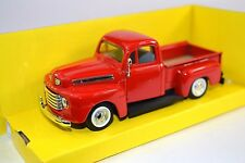 FORD F-1 PICKUP 1948 1:43 NEW 94212 RED LUCKY ROAD SIGNATURE
