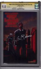 Night of the Living Dead Back From the Grave   SS Signed George Romero