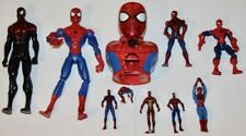 SPIDER-MAN Loose Figure Toy Mixed Lot Of 10 Marvel Universe Movies Titans