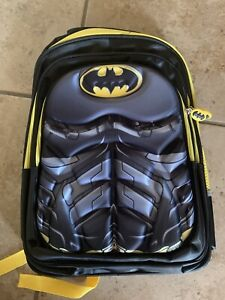 DC Comics Batman Boys School Backpack Book Bag Kids Children Brand New