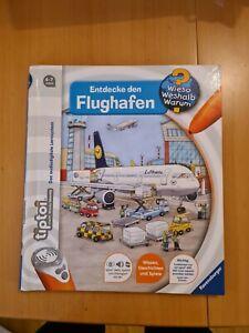 Tiptoi Buch Entdecke Den Flughafen Ohne Stieft Ravensburger Top Zustand