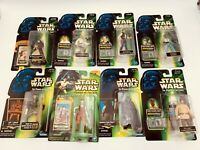 Star Wars POTF Tatooine Mos Eisley Lot of 8 Figures Wuher Mail Away Aurra Sing