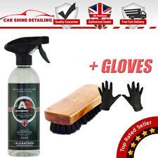 Autobrite Direct KIT Alcantara & Suede Surface Cleaner 500ml + BRUSH + GLOVES !