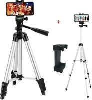 Portable Camera Smartphone Tripod Stand for iPhone Free Phone Mount Lightweight