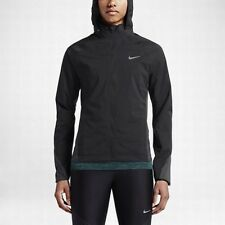 Women's Nike Nsw Shield Hooded Running Jacket Coat Size Large