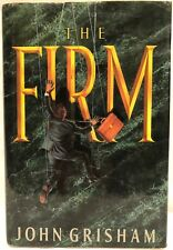 *RARE* The Firm by John Grisham 1991, 1st Ed., 1st Printing *AUTHOR INSCRIBED*