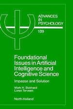 Foundational Issues in Artificial Intelligence and Cognitive Science,-ExLibrary