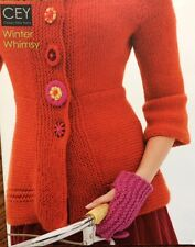 CEY Classic Elite Knitting Pattern Book 9104 Winter Whimsey 14 Designs