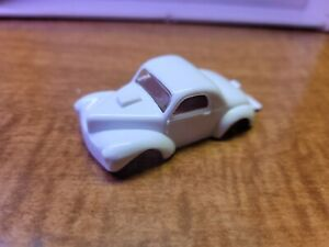 Auto world willys tjet unpainted slot car body unused