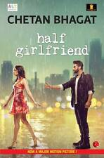 Half Girlfriend (English) Paperback Chetan Bhagat Novel Fiction India new cover