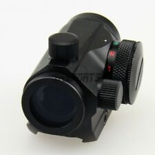 Micro Red + Green Dot Reflex Sight Compact 1x20 Dual Illuminated 20mm Mount