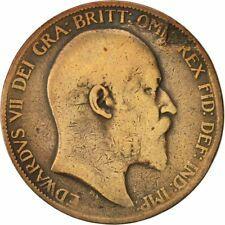 [#422929] Coin, Great Britain, Edward VII, Penny, 1903, VF(20-25), Bronze