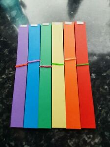 CHRISTMAS PAPER CHAINS ,120 STRIPS,FREE p&p.BUY 2 SET+ GET EXTRA 6 colours
