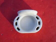 Vintage Antique White Porcelain Wall Mount Tooth Brush Holder