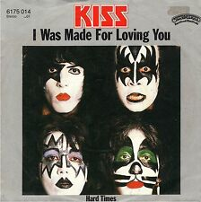 "7"" Kiss – I Was Made For Loving You / Alternative 1st Grey Sleeve / Germany 1981"