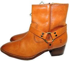 $348 Frye Kristen Engineer Harness Ankle Boots Leather Moto Biker Booties 6