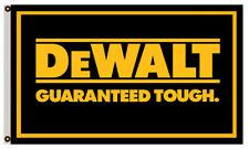 Dewalt Flag Power Tools Guaranteed Tough Banner 3x5ft Us Shipper