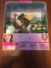 Rare Barbie Bobbing Head 2 Collie Dogs w/ Accessories Nib 67388