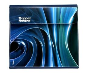 """Mead Trapper Keeper Binder 1"""" Round 2 Folders Navy New 2021"""