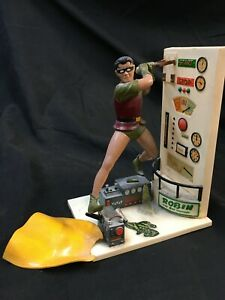 ROBIN THE  BOY WONDER AURORA MODEL KIT PAINTED AND  ASSEMBLED 1966