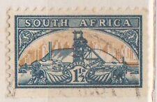(RSB18) 1948 RSA 1½d green &brown South Africa MH