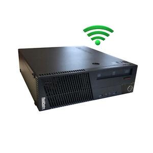 Lenovo ThinkCentre M83 Intel Core i5/i7 8GB/16GB RAM SSD,HDD WLAN Win10 Computer