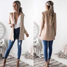 Hot Fashion Women Ladies Suit Coat Business Blazer Long Sleeve Jacket Outwear