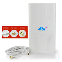 49DBI LTE MIMO 3G 4G Antenna 2xTS9 SMA CRC9 Ultra-high Gain for Huawei /ZTE New