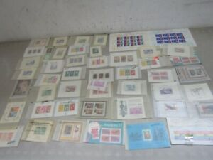 Nystamps Belgium Congo Rwanda Surinam mint NH stamp souvenir sheet collection