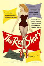 THE RED SHOES Movie POSTER 27x40 Anton Walbrook Moira Shearer Marius Goring