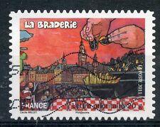 TIMBRE FRANCE AUTOADHESIF OBLITERE N° 568 / FETES ET TRADITIONS DE NOS REGIONS