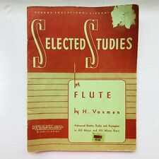 selected studies for flute by H Voxman