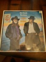 Merle Haggard, Willie Nelson Seashores Of Old Mexico Vinyl in Shrink Wrap!! Nice