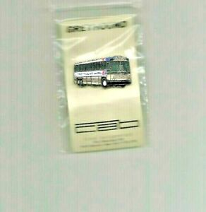 Greyhound BUS Hat / lapel pin 5/8 X 1-1/4 USA