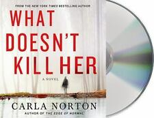 WHAT DOESN'T KILL HER  -Carla Norton-  UNABRIDGED AUDIO 9 CD ~ NEW