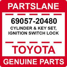69057-20480 Toyota OEM Genuine CYLINDER & KEY SET, IGNITION SWITCH LOCK