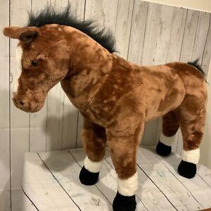 Melissa & Doug Horse Plush Large 27 inches x 38 inches Stuffed Animal Toy #2105