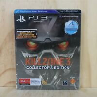 Playstation 3 PS3 Game - Killzone 3 Collector's Edition Steel Case - Box + Disc