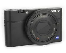 SONY CYBER-SHOT RX100 20.2MP DIGITAL CAMERA - BLACK - GRADE A