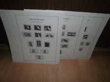 Leuchtturm SF Bund Deutschland 1975-1979 komplett Vordruckblätter