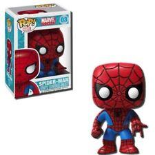 Figurines de héros de BD Funko avec spiderman