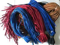1/4 x 72 Inch Bulk Baseball/Softball Glove Lace - Multiple Colors Available